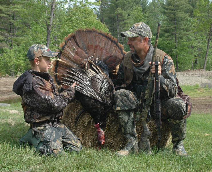 Picture of Bob Humphrey with Turkey