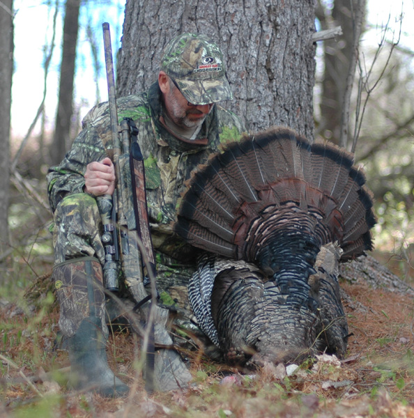 Bob Humphrey with turkey